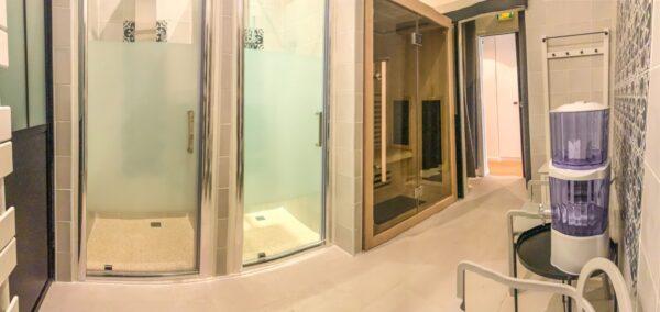 L'atelier spa le sauna